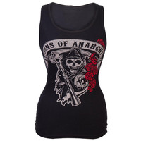 Sons of Anarchy - Rose Reaper Juniors Tank Top