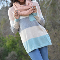 Pacific Sweater, Seafoam :: NEW ARRIVALS :: The Blue Door Boutique