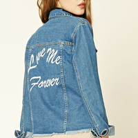 Love Me Forever Denim Jacket