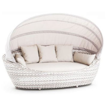 Domus Paradiso Large Daybed with Canopy and Cushion & Reviews | Wayfair