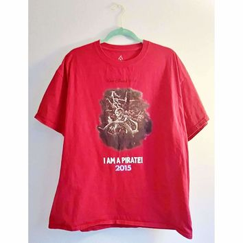 "Authentic Walt Disney World T-shirt ""I am a Pirate"""