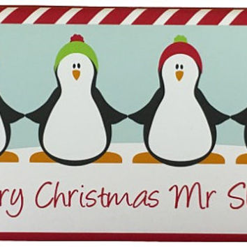 100g Personalised Christmas Chocolate Bars - 3 designs to choose from - ideal teacher gift