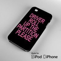 Beyonce Partition Lyric A0521 iPhone 4S 5S 5C 6 6Plus, iPod 4 5, LG G2 G3, Sony Z2 Case