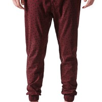Lira Tri Zigs Jogger Pants - Mens Pants - Red