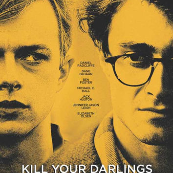 Kill Your Darlings (Canadian) 11x17 Movie Poster (2013)