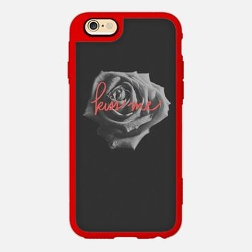 Kiss Me iPhone 6 case by DuckyB   Casetify