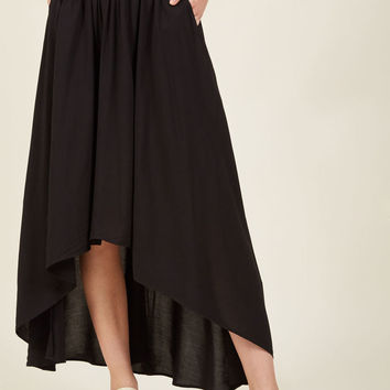 Lead in Lengths Midi Skirt