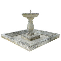 French Louis XIV Period Stone Fountain, 17th Century