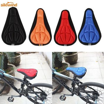 New MTB Mountain Road Bike Saddle Bicycle Cycling Seat Mat Comfortable Cushion Soft Seat Cover Pad for Bicycle Parts Accessories
