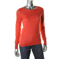 Marc by Marc Jacobs Womens Knit Long Sleeves Pullover Sweater