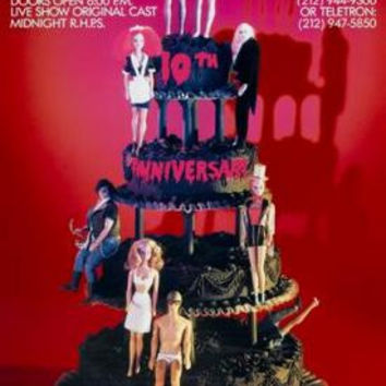 Rocky Horror Picture Show Movie Poster Wedding Cake 24inx36in