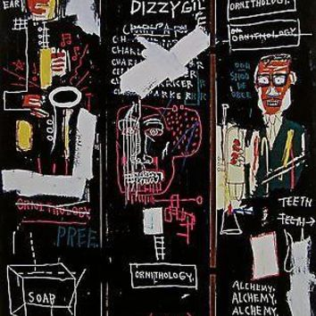 Horn Players (1983), Giclee Print, Jean-Michel Basquiat