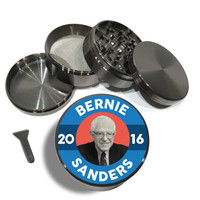 "Bernie Sanders 2016 4 Piece Grinder 2.5"" - Feel the Bern"