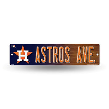 "Houston Astros MLB Baseball 16"" Street Sign Fan Wall Décor"