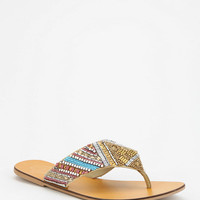 Ecote Mixed Bead Thong Sandal