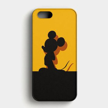 Mickey Mouse Pluto Chip And Dale iPhone SE Case