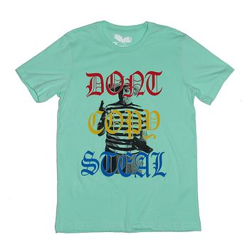 "Dont Copy Steal ~Pablo Picasso ""Quote T-shirt"" ~ Unisex Graphic Tee ~Mint"