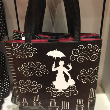 Disney Parks Tote Bag Practically Perfect In Every Way Mary Poppins New with Tags