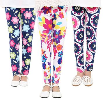 Floral, Polka Dots, Stars CollectionLeggings Kid Child Baby Toddler New Born Infant Pants