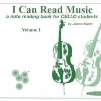 I Can Read Music: A Note Reading Book for Cello Students (For Cello)