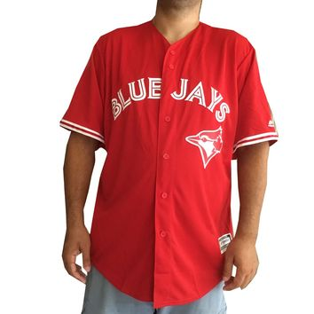 Majestic Toronto Blue Jays Scarlet 2017 Cool Base Replica Team Jersey