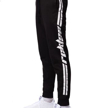 Racer Sweatpants - Black/White
