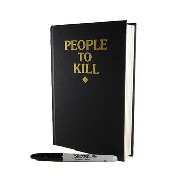 People To Kill Book