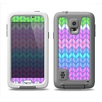 The Bright-Colored Knit Pattern Samsung Galaxy S5 LifeProof Fre Case Skin Set