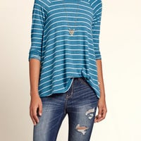 Must-Have Long Sleeve Easy T-Shirt