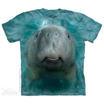 Big Face Manatee Kids T-Shirt