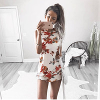 Roxana Floral Shift Dress