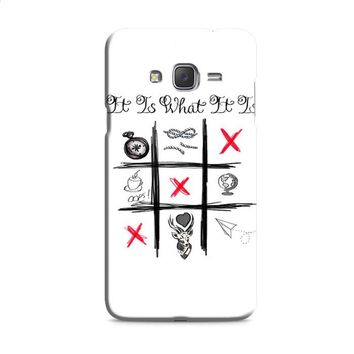 One Direction Louis Tomlinson Tattoos Samsung Galaxy J7 2015 | J7 2016 | J7 2017 Case