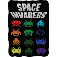 Space Invaders - Fleece Blanket