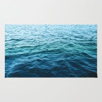 The Sea Area & Throw Rug by Mareike Böhmer Photography | Society6