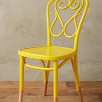 Scrolled Bentwood Dining Chair,