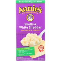 Annie's Homegrown Shells and White Cheddar - 6 oz