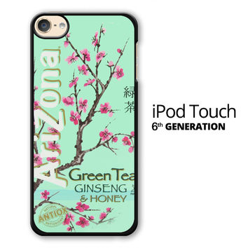 Arizona Green Tea SoftDrink iPod Touch 6 Case