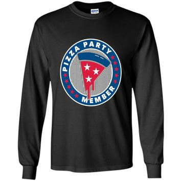Pizza Party Member: Funny American Politics Birthday T-Shirt cool shirt