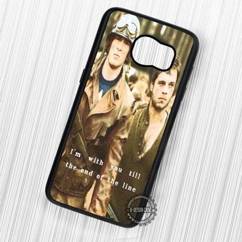 I'm with You Steve Rogers Bucky Barnes - Samsung Galaxy S7 S6 S5 Note 7 Cases & Covers