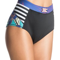 Pop Surf Polynesia High Waisted Bikini bottoms 888701791386 | Roxy
