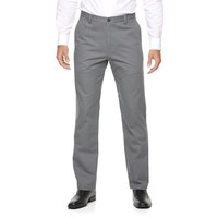 Men's Croft & Barrow® Classic-Fit Essential Khaki Flat-Front Pants | null