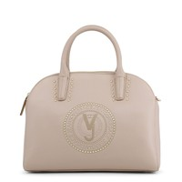 Versace Jeans Brown Leather Handbag