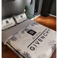 Home Decor GIVENCHY Blanket Quilt coverlet Pillow shams 4 PC Bedding SET