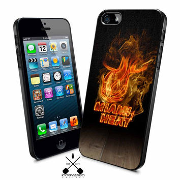 miami heat fire iPhone 4s iphone 5 iphone 5s iphone 6 case, Samsung s3 samsung s4 samsung s5 note 3 note 4 case, iPod 4 5 Case
