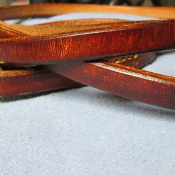 Leather dog leash , luxury leash , high end brown leash , handmade leather dog leash , pet leash