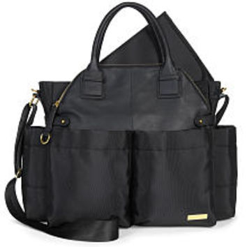 Skip Hop Downtown Chic Chelsea Diaper Bag - Black