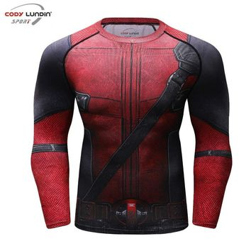 Deadpool Dead pool Taco Fun  Shirt Tee 3D Printed T Shirts Men Fitness G ym Clothing Male Tops Funny T-shirt Superman  Costume Display AT_70_6