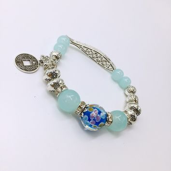 New Arrival Stylish Great Deal Hot Sale Gift Awesome Shiny Crystal Couple Jewelry Bracelet [27793883156]