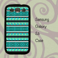Samsung Galaxy S3 case - Mint Aztec