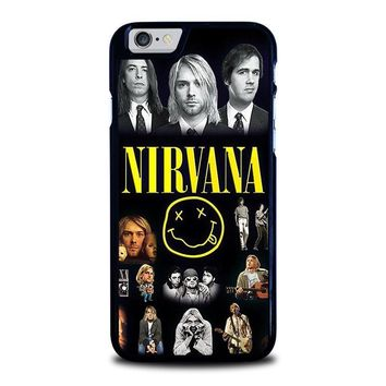 nirvana iphone 6 6s case cover  number 1